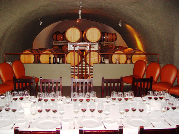 Wine cellar tour with Healdsburg Wine Tours